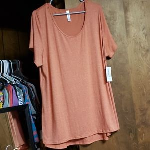 New Orange Blend LuLaRoe Classic T